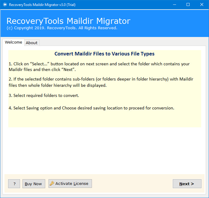 Apache James Migration Tool – Export Apache James Mailboxes