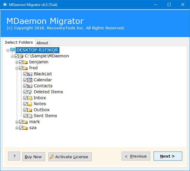 multiple mdaemon files