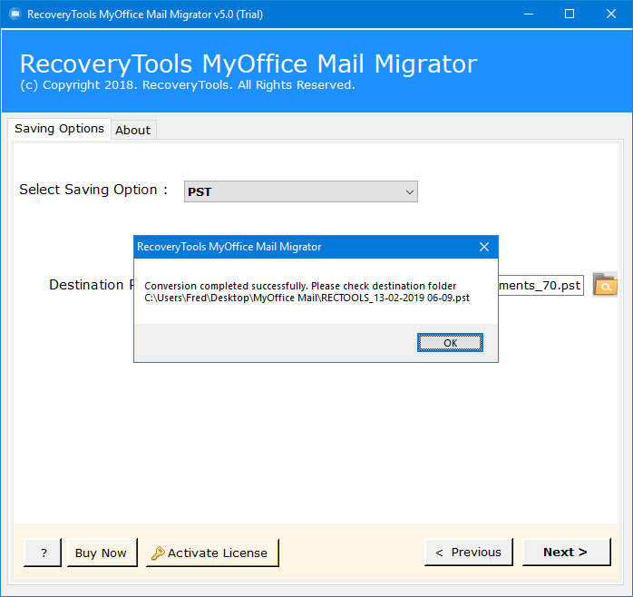 myoffice mail to outlook