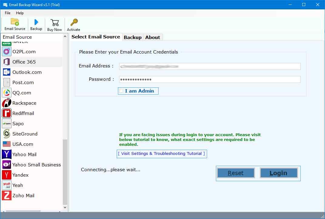 RecoveryTools Office 365 Converter