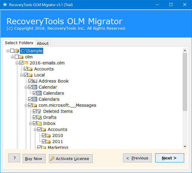 import olm file to office 365