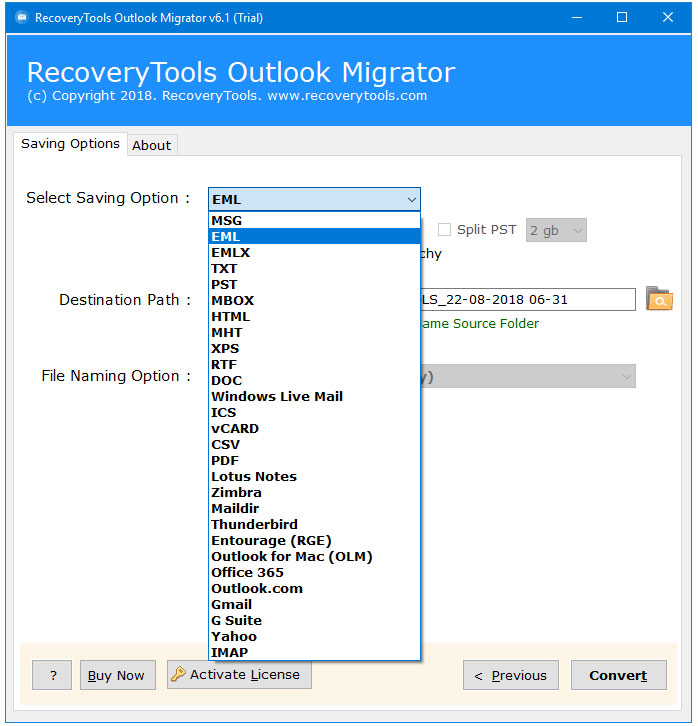 software convert outlook emails