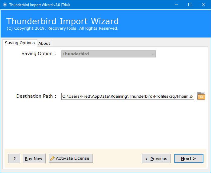 Thunderbird import MBOX file not working properly