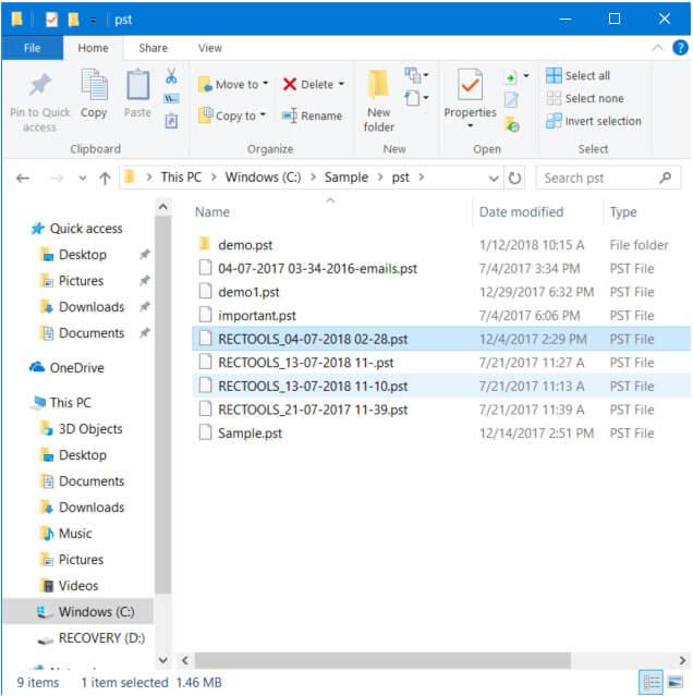 Thunderbird Backup Tool – Thunderbird Mail Backup from