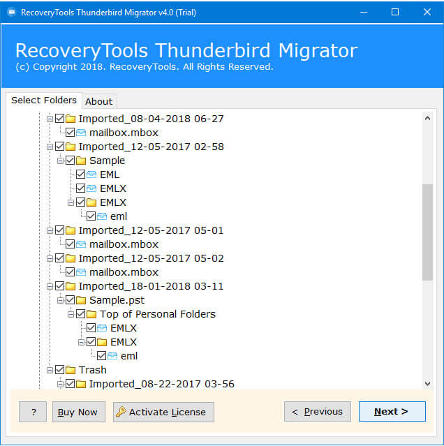 Thunderbird to Office 365 Migration – Import/Export
