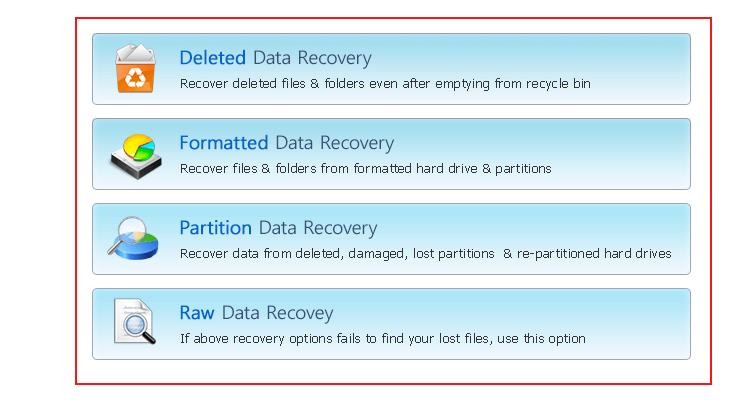 Launch VHD Recovery Software