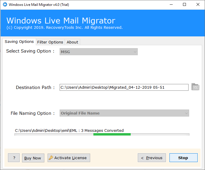 recover email after windows live mail crashed