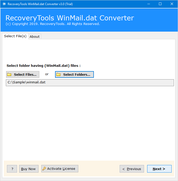 Winmail dat Converter — Export Outlook Winmail Dat TNEF