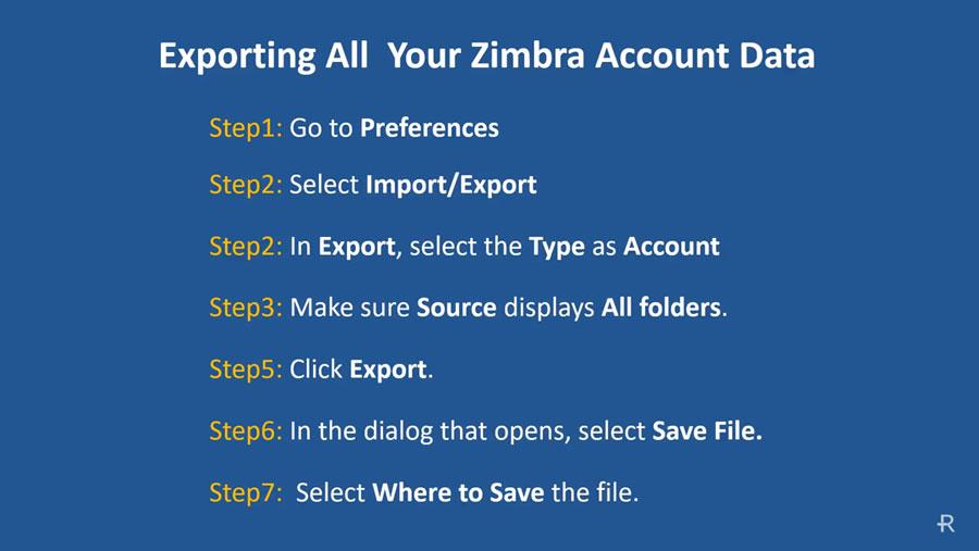 Zimbra auf einen anderen Server verschieben