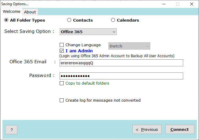 migrate email from zimbra to office 365